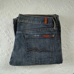 7 For All Mankind Flare Jeans - Size 30